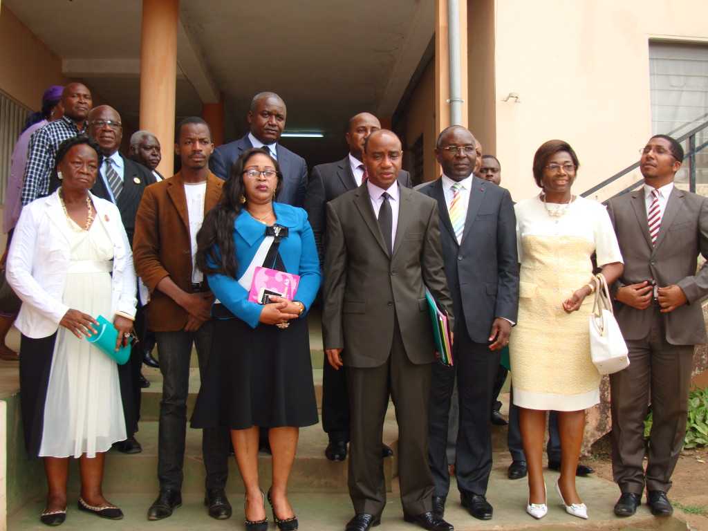 Governor of the Centre Region, with Mayors and other key stakeholders